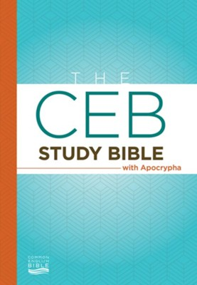 The CEB Study Bible with Apocrypha Hardcover  -
