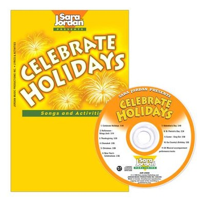 Celebrate Holidays CD/Book Kit  -     By: Sara Jordan