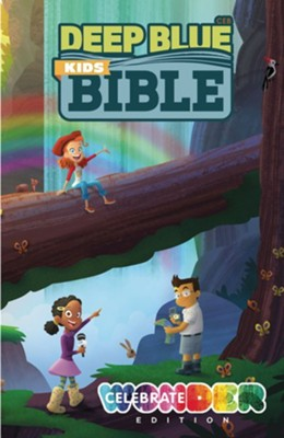 CEB Deep Blue Kids Bible: Celebrate Wonder Edition  -