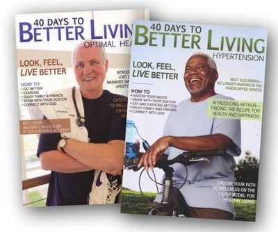 40 Days to Better Living - 2 Pack  -     By: Dr. Scott Morris