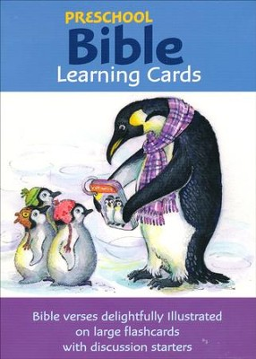 Preschool Bible Learning Cards   -     By: Vicky Enright, Illustrator     Illustrated By: Vicky Enright