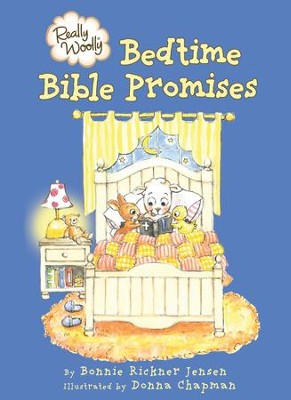 Really Woolly Bedtime Bible Promises - eBook  -     By: Bonnie Rickner Jensen     Illustrated By: Julie Sawyer Phillips