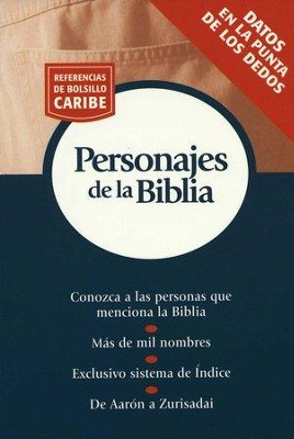 Referencias de Bolsillo Caribe: Personajes de la Biblia  (Nelson's Pocket Reference Series: Bible People)  -