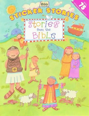 Bible Sticker Stories: Stories from the Bible   -     Illustrated By: Stacey Lamb