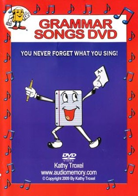Audio Memory Grammar Songs DVD   -     By: Kathy Troxel
