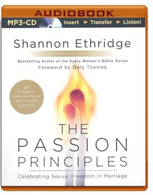 The Passion Principles, Unabridged MP3-CD   -     By: Shannon Ethridge