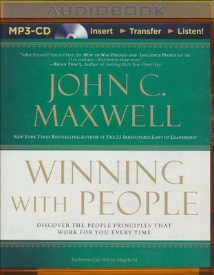 Winning with People, Abridged MP3-CD   -     By: John C. Maxwell