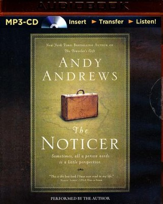 The Noticer, Unabridged MP3-CD   -     By: Andy Andrews
