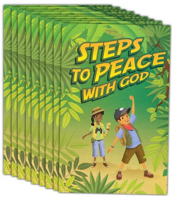 The Greatest Journey Steps to Peace with God 25 pack   -