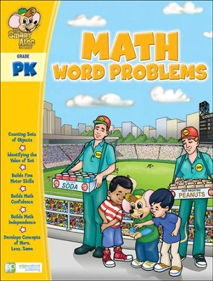 The Smart Alec Series: Math Word Problems Grade PreK   -