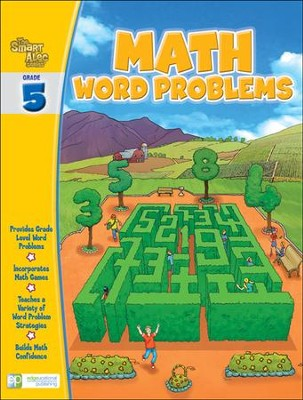 The Smart Alec Series: Math Word Problems Grade 5   -