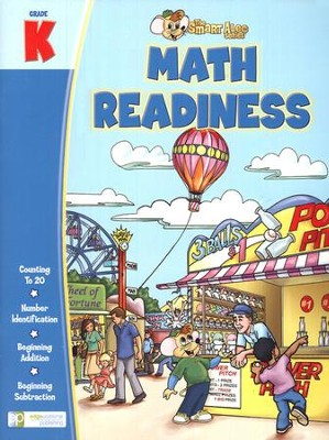 The Smart Alec Series: Math Readiness Grade K   -