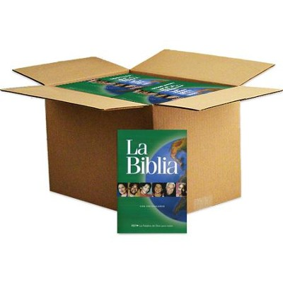 PDT Spanish Paperback Bible, Case of 28   -
