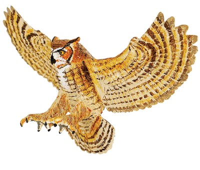 Wings to the World Birds, Great Horned Owl  -