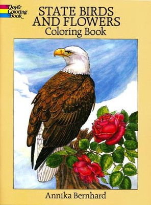 State Birds and Flowers - coloring book   -     By: Annika Bernhard
