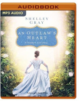 An Outlaw's Heart: A Selection from Among the Fair Magnolias - unabridged audio book on MP3-CD  -     Narrated By: Devon O'Day     By: Shelley Gray
