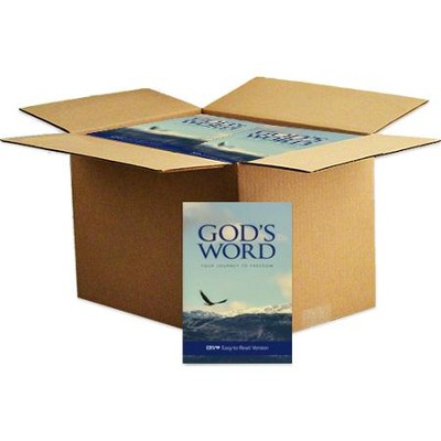 God's Word - Your Journey to Freedom, Paperback Case of 24  -