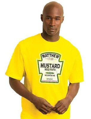 Mustard Seed Shirt, Yellow, Large  -