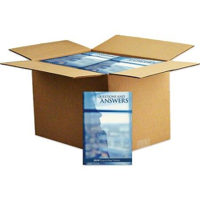 Questions & Answers Booklet, Case of 240   -