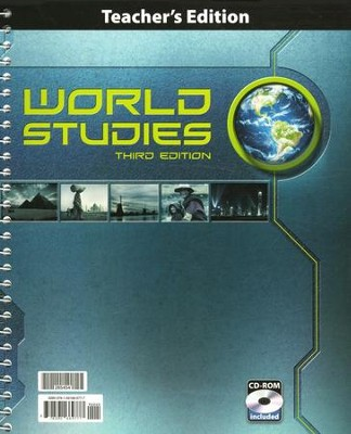 BJU World Studies Teacher's Edition Grade 7 with CD-ROM  Third Edition  -
