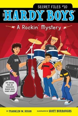 A Rockin' Mystery - eBook  -     By: Franklin W. Dixon     Illustrated By: Scott Burroughs