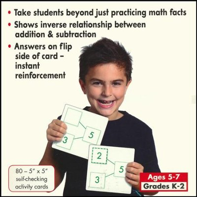 Number-Bonds Activity Cards: Addition/Subtraction, Grades K-2  -