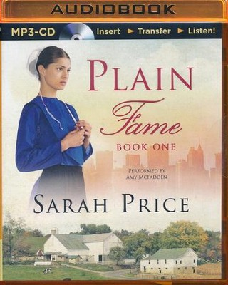 #1: Plain Fame - unabridged audio book on MP3-CD  -     Narrated By: Amy McFadden     By: Sarah Price