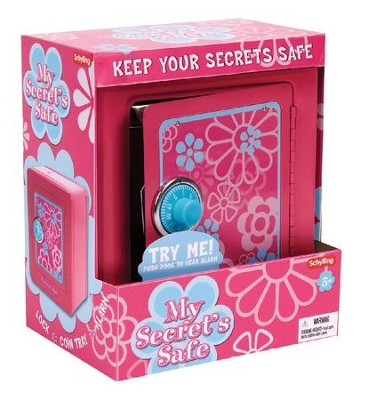 My Secret Safe with Alarm, Pink  -