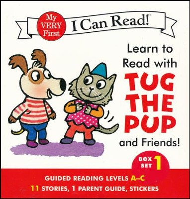 Learn to Read with Tug the Pup and Friends! Box Set 1  -     By: Dr. Julie M. Wood     Illustrated By: Sebastien Braun