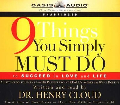 9 Things You Simply Must Do - Audiobook on CD  -     By: Dr. Henry Cloud