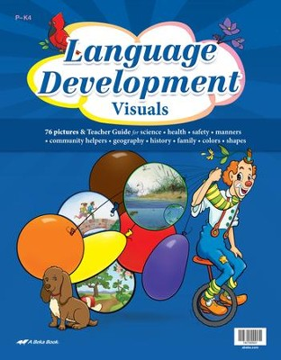Abeka Language Development Visuals (Ages 2 & 3)   -