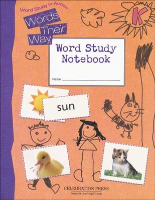 Word Study in Action Student Notebook Level K   -