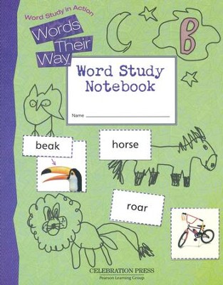 Words Their Way Level B Student Notebook, Grade 2   -