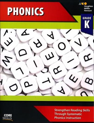 Steck-Vaughn Core Skills Phonics Workbook Grade K  -