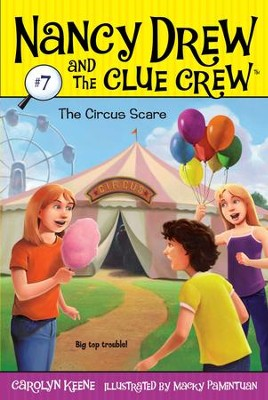 The Circus Scare - eBook  -     By: Carolyn Keene