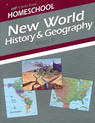 Abeka Homeschool New World History & Geography Maps B Book   -