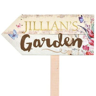 Personalized, Yard Sign, Garden   -