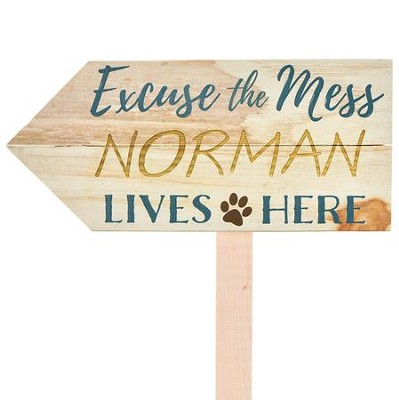 Personalized, Yard Sign, Pet   -