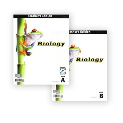 BJU Press Biology Grade 10 Teacher's Edition with CD-Rom, Fourth Edition  -
