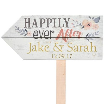 Personalized, Yard Sign, Wedding   -