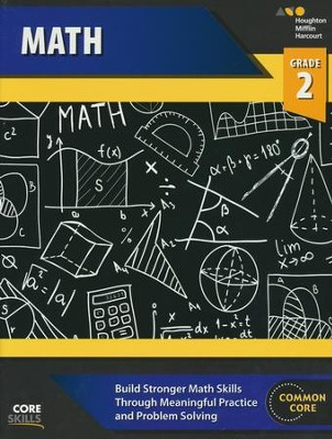 Steck-Vaughn Core Skills Math Workbook Grade 2  -