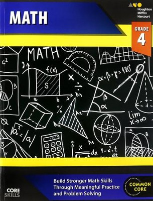 Steck-Vaughn Core Skills Math Workbook Grade 4  -