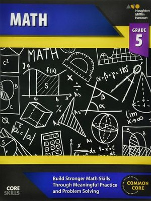 Steck-Vaughn Core Skills Math Workbook Grade 5  -