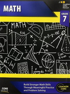 Steck-Vaughn Core Skills Math Workbook Grade 7  -