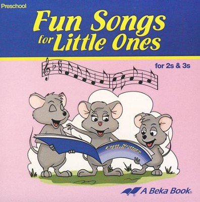 Abeka Fun Songs for Little Ones 2s & 3s Audio CD   -