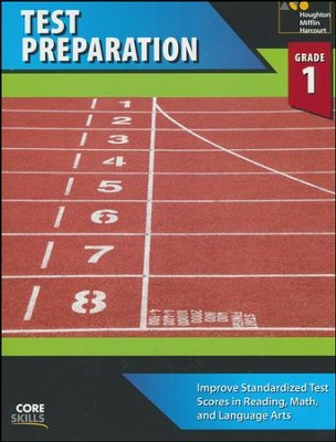 Steck-Vaughn Core Skills Test Preparation Workbook Grade 1  -