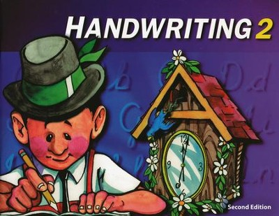 BJU Handwriting 2, Student Worktext Second Edition  (Updated Copyright)  -