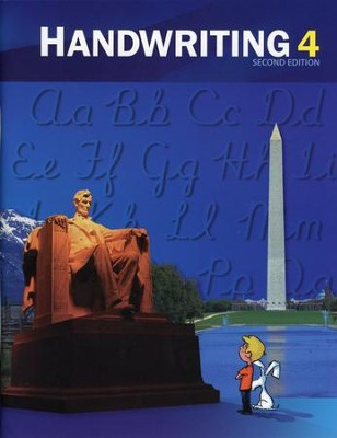 BJU Handwriting Grade 4 Student Worktext, Second Edition  (Updated Copyright)  -