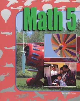 BJU Math 5, Student Text (Updated Copyright)   -