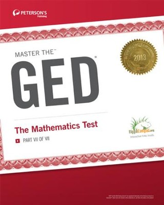 Master the GED: The Mathematics Test: Part VII of VII - eBook  -     By: Peterson's